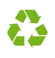 green recycle symbol vector image