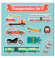 Set of all types of transport icon for creating vector image