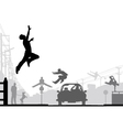 Parkour vector image