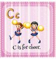 Cheer vector image