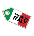 Made in Italy vector image vector image