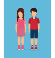 People digital design vector image
