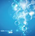 underwater bubble vector image