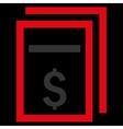 Price Copy Flat Icon vector image