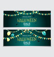abstract halloween sale vector image