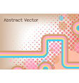 abstract stripe background design vector image