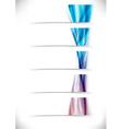 High-tech gear wave cards templates vector image vector image
