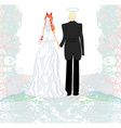 funny wedding invitation vector image