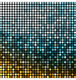 Abstract metallic disco background vector image