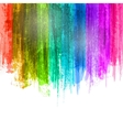 Blue Violet Paint Splashes Gradient Background vector image