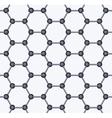 Graphene Seamless Pattern vector image