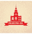 Philadelphia Symbol city vector image