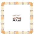 Ethnic frame vector image