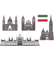 Hungary vector image