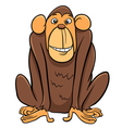 ape animal character vector image