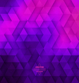 Abstract Geometric Technological Violet And Pink vector image