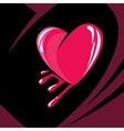 Feeling the heartstrings vector image