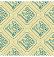 Seamless pattern with glyphs of the Maya periods vector image
