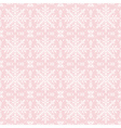 Pink christmas background with seamless pattern vector image