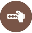 Gun Belt vector image