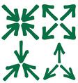 set of arrow 3 1 vector image