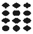 Frames Silhouettes vector image vector image