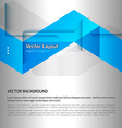 Design layout vector image vector image