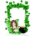 Greeting Card to St Patricks Day vector image vector image