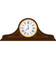 Table clock vector image