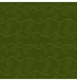 Stylized leaves and branch seamless pattern in vector image vector image