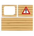 wood vector image vector image