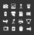 Set icons of photo vector image
