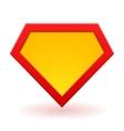 Superhero logo template vector image