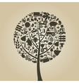 Tree agriculture vector image vector image
