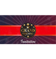 1160Grand Opening banners invitation vector image