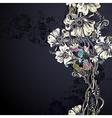 decorative flowers vector image