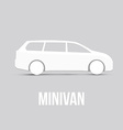Sample Car Icon Isolated vector image