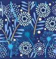 dandelion pattern on white vector image