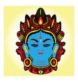 tibet buddha vector image