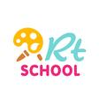Art school symbol vector image