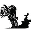 Cartoon motocycle vector image