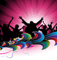 party concept vector image
