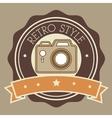 Photography and camera retro-vintage design vector image