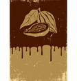Chocolate retro vector image