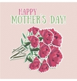 Mothers day flower vector image