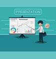 salary man 01 presentation vector image
