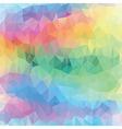 Pastel pattern of geometric shapes Spring mosaic b vector image