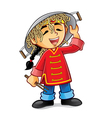 Chinese Boy vector image vector image