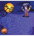 maze for kids vector image
