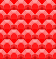 Ruby seamless pattern background of Red gems vector image